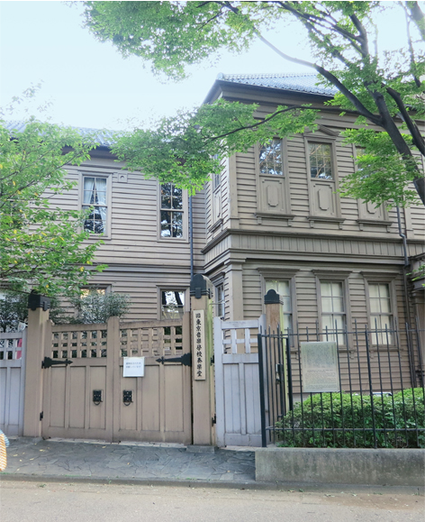 The Sogakudo Concert Hall, belonged to former Tokyo Music School