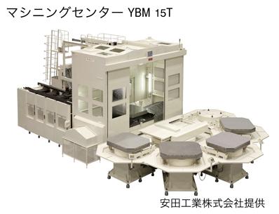 安田工業・マシニングセンターYBM15T